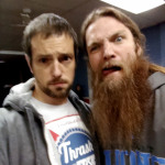 Corey and Battlecross vocalist Gumby
